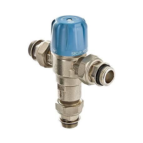"""Трехходовой термостатический смесительный клапан Thermomix 1/2"""" регулируемый VALTEC"""