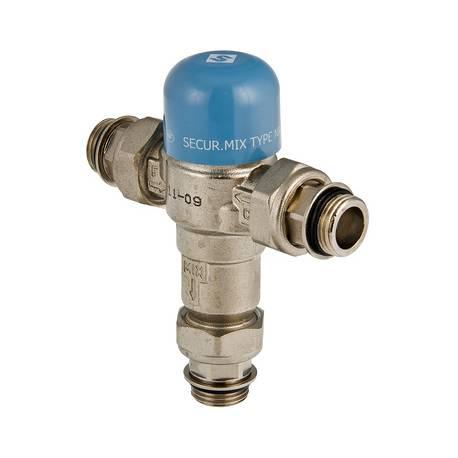 """Трехходовой термостатический смесительный клапан Thermomix 1/2"""" не регулируемый VALTEC"""