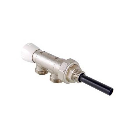 """Инжекторный узел для подключения радиатора 1/2""""х50%х3/4"""" Евроконус VALTEC"""