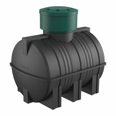 Бак пластиковый для подземного хранения дизельного топлива 3000 л.