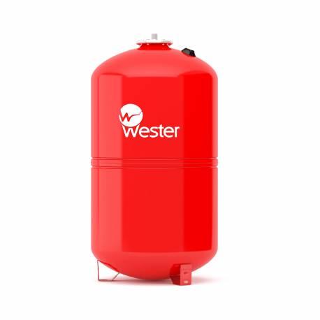 Бак расш. для отопления 50 л. с ножками WRV Wester красный