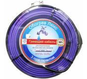Саморегулирующийся греющий кабель внутрь трубы 15 Вт/м (6 метров )
