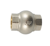 """Обратный клапан с металлическим диском В 1/2"""" JIF никель"""